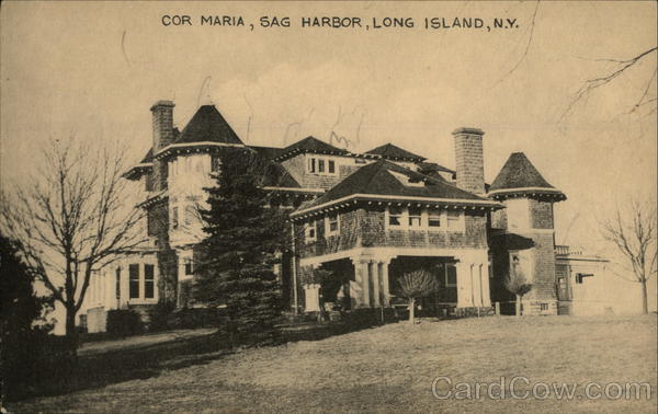 Cor Maria at Sag Harbor Long Island New York