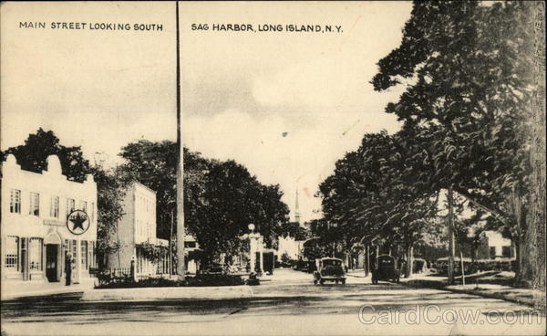 Main Street Looking South, Sag Harbor Long Island New York