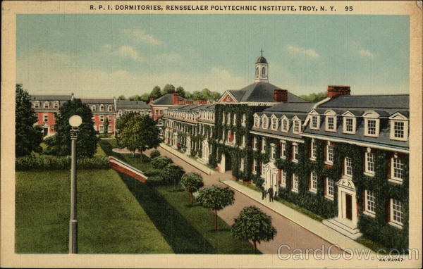 RPI Dormitories, Rensselaer Polytechnic Institute Troy New York