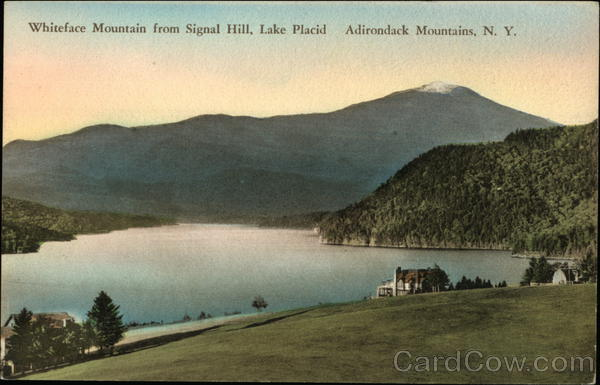 Whiteface Mountain from Signal Hill in the Adirondack Mountains Lake Placid New York