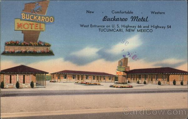 Buckaroo Motel Tucumcari New Mexico