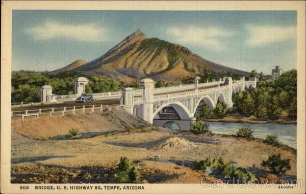 606 Bridge, U.S. Highway 80, Tempe, Arizona