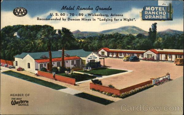 Motel Rancho Grande Wickenburg Arizona