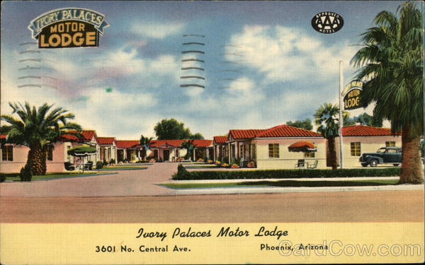 Ivory Palaces Motor Lodge Phoenix Arizona