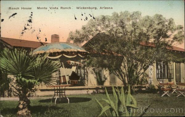 Ranch House, Monte Vista Ranch Wickenburg Arizona