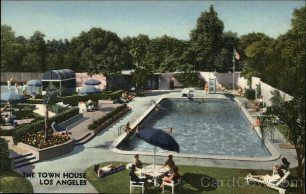 The Town House Pool Los Angeles California