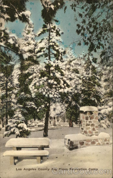Los Angeles County Big Pines Recreation Camp California