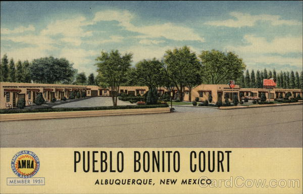 Pueblo Bonito Court Albuquerque New Mexico