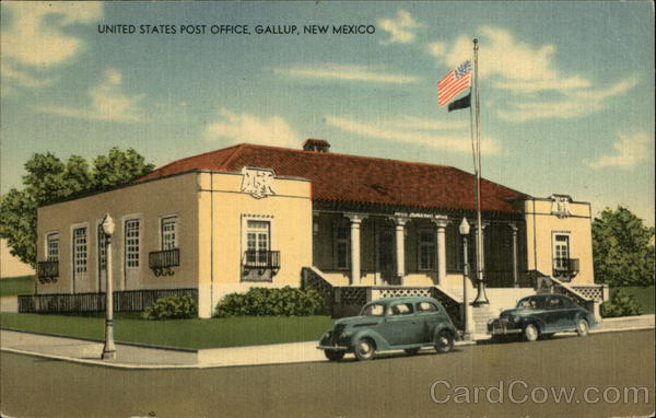 United States Post Office Gallup New Mexico