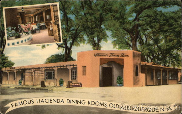 Hacienda Dining Rooms Albuquerque New Mexico