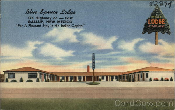 Blue Spruce Lodge Gallup New Mexico