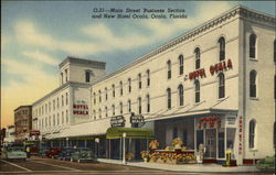 Main Street Business Section and New Hotel Ocala
