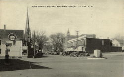 Post office square and Main Street