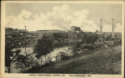Great Northern Paper Co. Postcard
