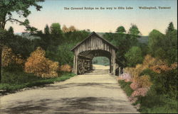 The Covered Bridge on the way to Elfin Lake
