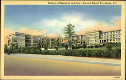 College of Education and Henry Barnard School