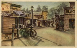 Ghost Town Street, Knott's Berry Place