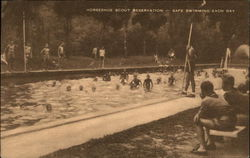 Horshoe Scout Reservation- Safe swimming each day