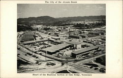 The City of the Atomic Bomb - Heart of the Business Section