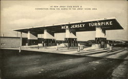 Toll Booth On The New Jersey Turnpike