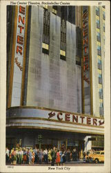 The Center Theatre, Rockefeller Center