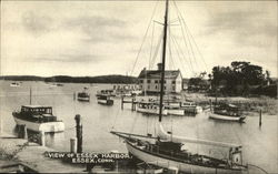 View of Essex Harbor