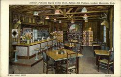 Interior, Pahaska Tepee Coffee Shop, Buffalo Bill Museum