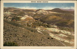 Birds-Eye View of Mining Country