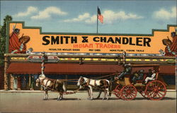 Smith & Chandler Indian Traders and Old Stage Coach