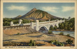 606 Bridge, U.S. Highway 80, Tempe, Arizona Postcard
