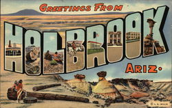 Greetings from Holbrook Postcard
