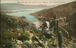 Roosevelt Dam and Apache Trail Highway