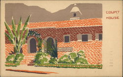 Court House - Original Serigraph