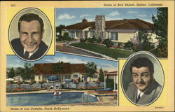 Home's of Bud Abbott and Lou Costello
