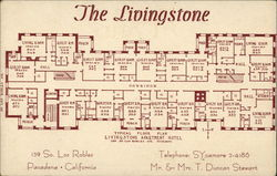 The Livingstone Architectural Floor Plan