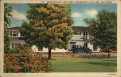 Residence of Clark Gable, Brentwood Highlands