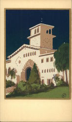 Serigraph Illustration of Mission