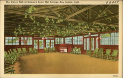 Gilman's Relief Hot Springs - Dance Hall