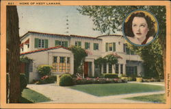 Home of Hedy Lamarr and Portrait