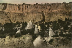 Tent Rocks in Otowi Canyon