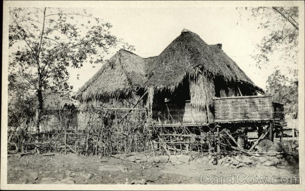 House with Straw Roof