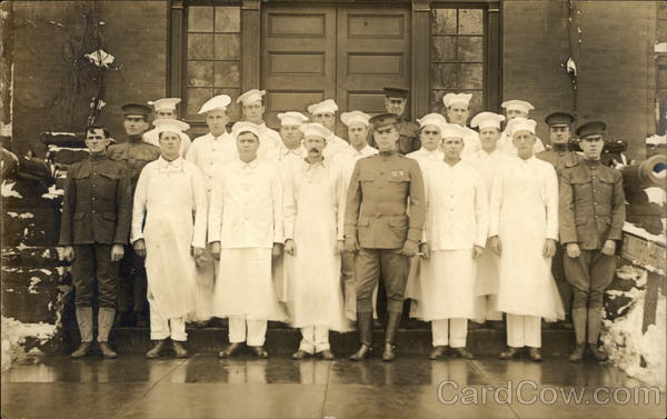 Group of Cooks in the Military