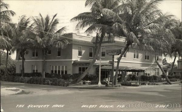 The Kentucky House Delray Beach Florida