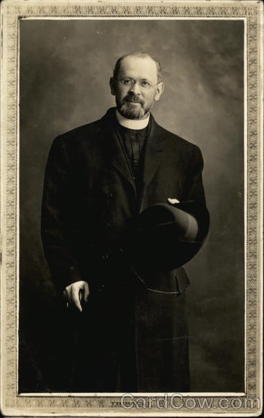 Portrait of a Clergy Man Religious