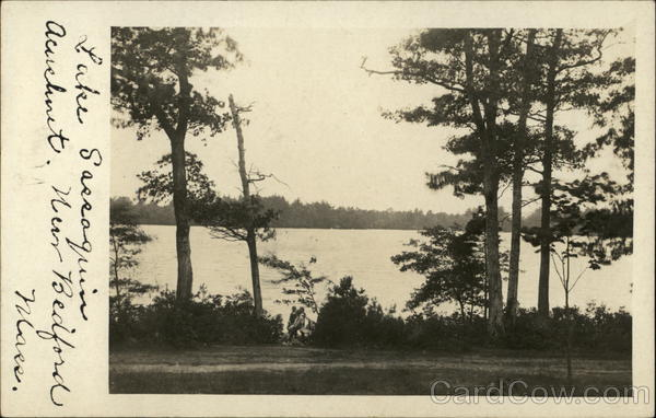 Lake Sassaquin, Acushnet New Bedford Massachusetts