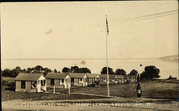 Penobscot Bay Camps, Searsport Avenue Belfast Maine