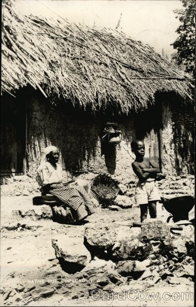 Native Hut in Curacao