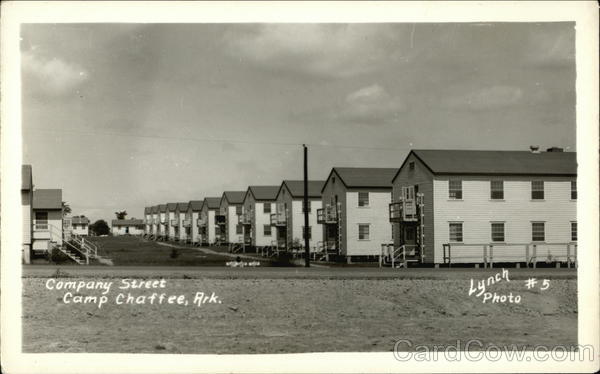 Company Street Camp Chaffee Arkansas