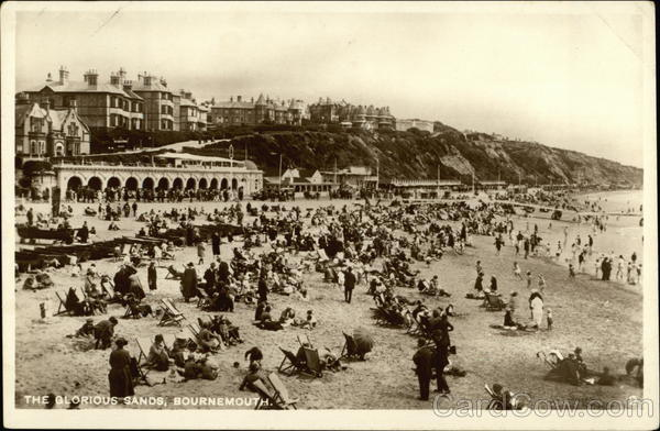 The Glorious Sands Bournemouth England Dorset