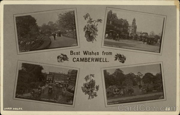 Best Wishes from Camberwell England